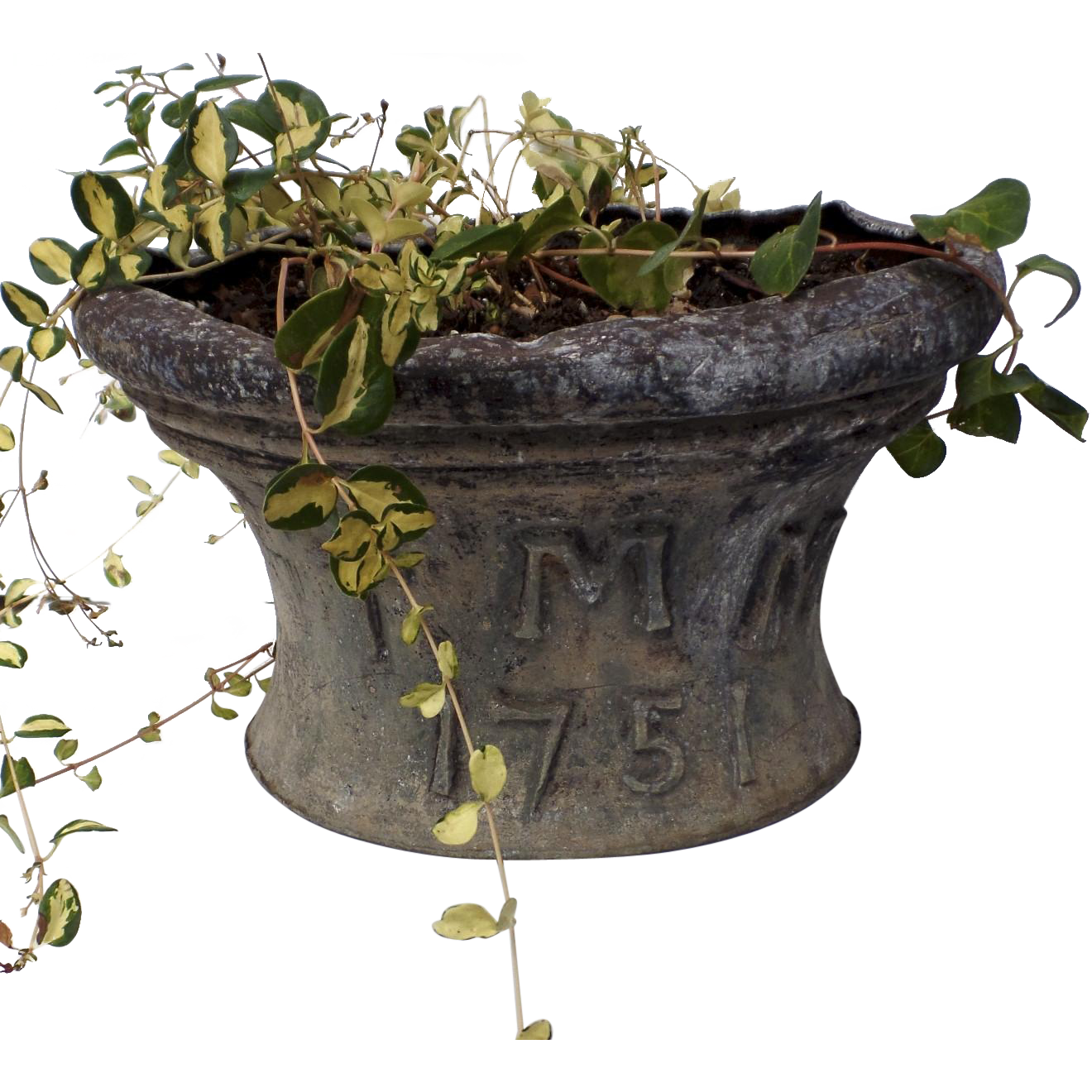 English 18th century cistern planter dated initials garden for Garden design 18th century