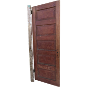 Vintage Paneled Weathered Door