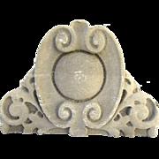 Architectural Building Ornament Limestone Pediment Arch