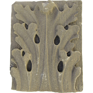 19th Century Architectural American Limestone Fragment