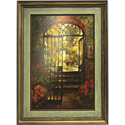 Oil on Canvas Entree Way  by Steven Shortridge