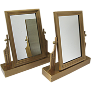 Pair of Wonderful Art Deco Table Mirrors
