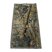 Flemish Small Tapestry Tree Bird