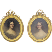 19th Century Portraits ofJulia and Serena Rhinelander