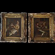 Dutch Genre Paintings 19th Century