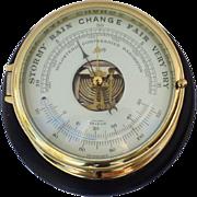 Vintage Schatz Marine Ship's Barometer
