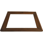 American Pine Primitive Mirror