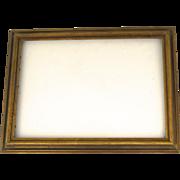 Vintage Large Gilt Molded Frame Non Directional