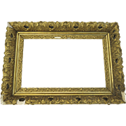 19th Century Gilt Frame Restoration Re-purpose Fancy