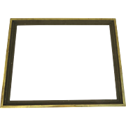 Large Vintage Water Gilt Frame