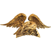 19th Century Carved Wood and gilt Eagle
