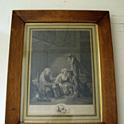 Early French Etching C1860