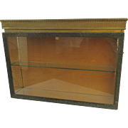 Vintage One Door Hanging Narrow Display Cabinet