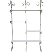 Wrought Iron Shelves Circa 1870