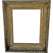 Beautiful Gilt Frame Circa 1880