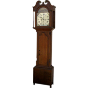 Scottish Longcase Grandfather Clock John Duff Rothiemay