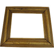 Vintage Oak Molded Frame Ranch County