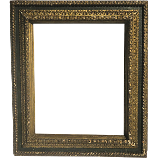 Early 19th Century Italian Robust Carved Gilt Frame