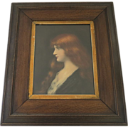 Photolithograph of a painting by Jean Jacques Henner