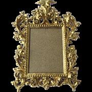 19th Century Rococo Italian Gilt Frame