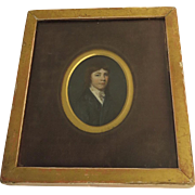 Miniature Painting of Charles Hoskins Master c 1830