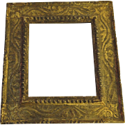 Small Early 19th Century French Gilt Frame Beautiful Patina