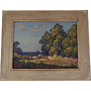 Oil on Board by Anthony Buchta (1896-1967) Signed Dated 1951