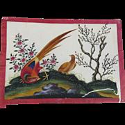 China Trade Paintings Circa 1800