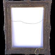 19th Century Frame Gilt Gesso