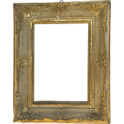 Large 19th Century Gilt Frame Lattice Closed Corners Non Directional