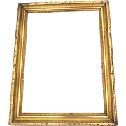 19th Century Gilt Molded Frame Non Directional