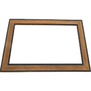 Vintage Painted Large Picture Frame