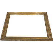 19th Century Gilt Gesso Frame Non Directional