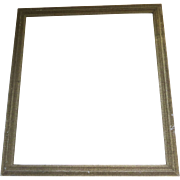 Vintage Silver Gilt Small Frame