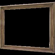 Vintage Horizontal or Vertical Worn Rubbed Finish Frame