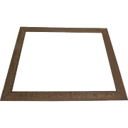 1900's Gottlieb-Bauernschmidt-Straus Brewing Co. GBS Large Oak Frame Advertising