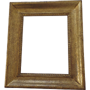 French Gilt Late 18th Early 19th Century Frame