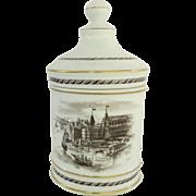 Vintage Vista Alegre Portugal Covered Jar