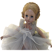 "Vintage Madame Alexander Ballerina Doll 1940's 1950's Blonde 17"""