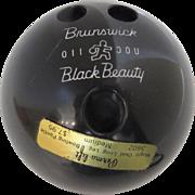 Vintage 1960's Perma Lift Bowling Panties Box Container Brunswick Black Beauty Advertising