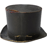 German Germany Vintage Candy Box Container Top Hat