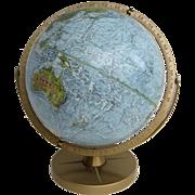 "Vintage '90's  Replogle Land & Sea 12"" Globe"