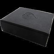 Vintage Cloth Black Box YSL Empty Heart