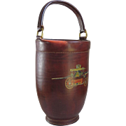 Cairns & Brother Clifton, NJ Leather Fire Bucket