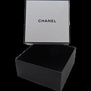 Square Empty Chanel Square Box Storage Display Large Medium