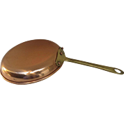 Vintage Copper Small Saute Pan Copral Made in Portugal