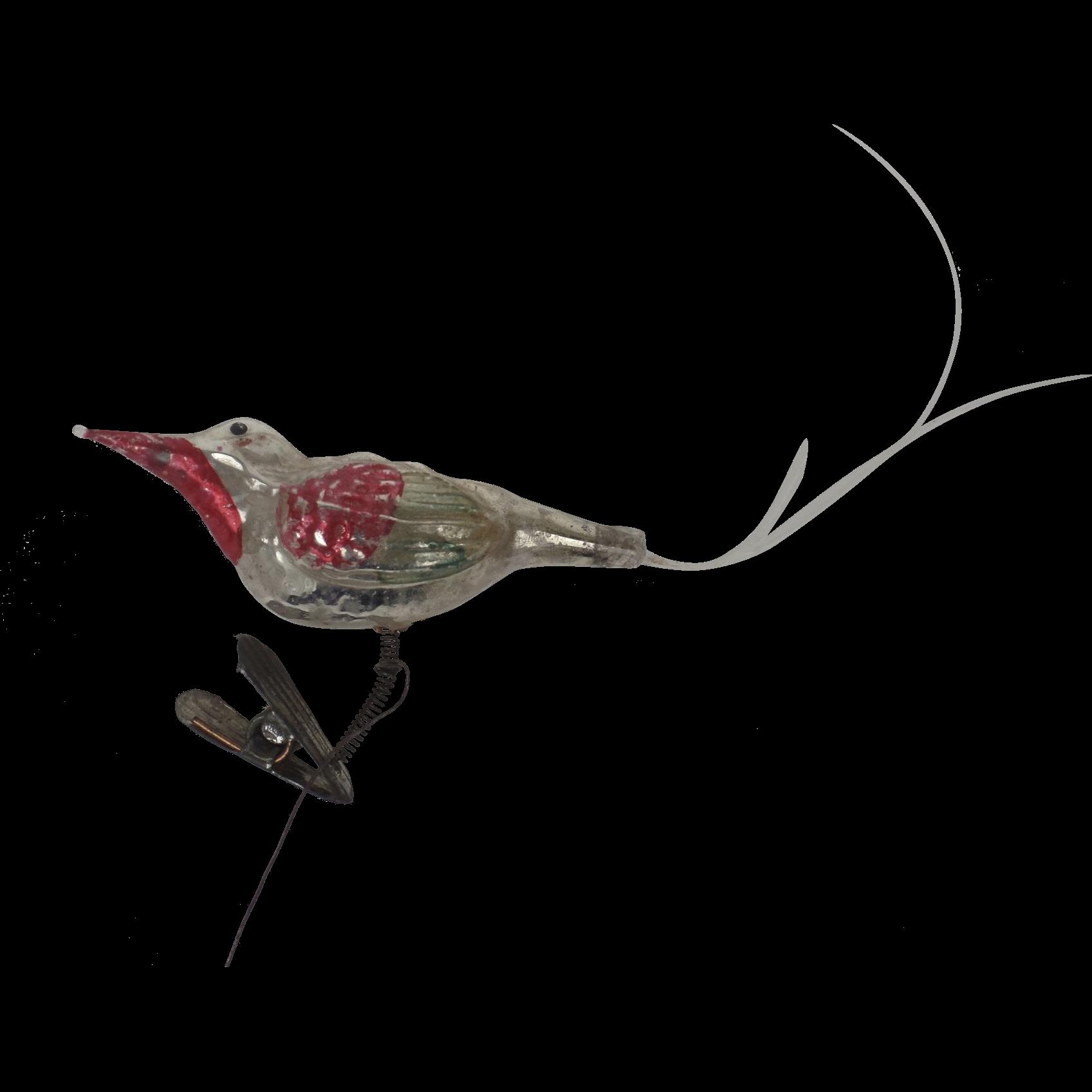 Vintage Glass Bird 107