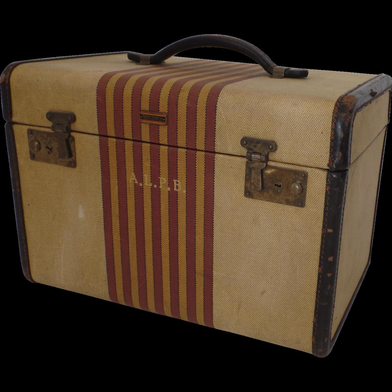 Vintage Train Luggage 13