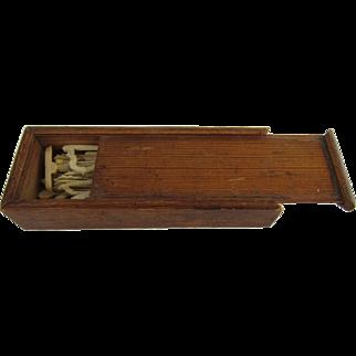 1860's Jackstraws Game in Original Box