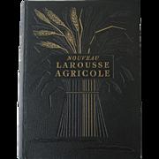 Nouveau Larousse Agricole, Edited by Raymond Braconnier, Larousse, Paris, 1952